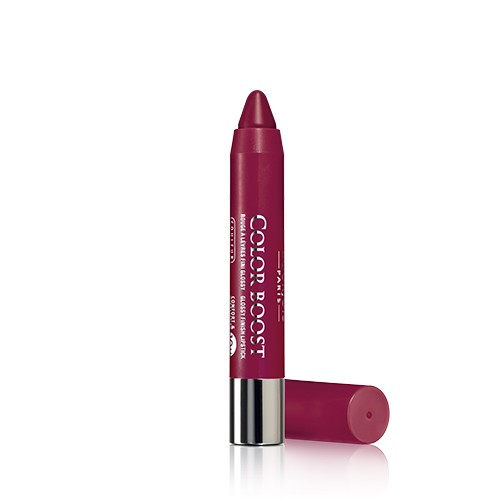 Bourjois lesk na rty COLOR BOOST 06 Plum Russian SPF 15