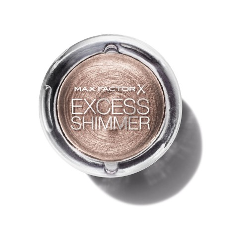 Max Factor oční stíny Excess Shimmer Eyeshadow 20 Copper 7g