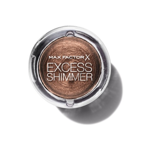 Max Factor oční stíny Excess Shimmer Eyeshadow 25 Bronze 7g