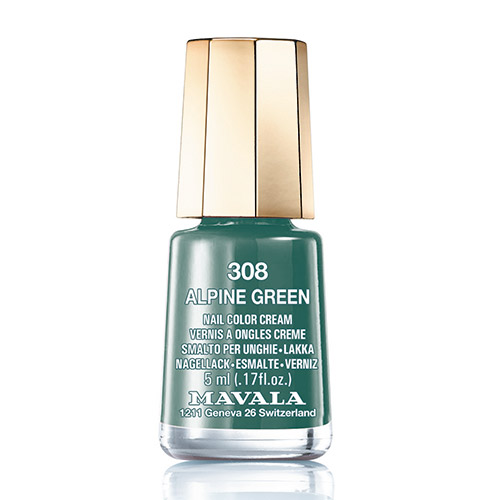 Mavala Minicolor lak na nehty 308 Alpine Green 5 ml