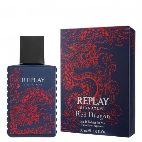 Replay Signature Red Dragon EdT 100 ml
