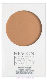 Revlon Nearly Naked Powder kompaktní pudr 040 Medium/Deep 8g