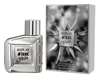 Replay Tank Plate for Him EdT 50 ml