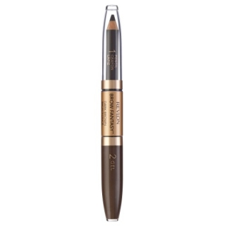 Revlon Brow Fantasy tužka a gel na obočí 2v1 106 Dark Brown 0,31 g + 1,18 ml