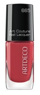 Artdeco lak na nehty Art Couture 665 Brick Red 10 ml