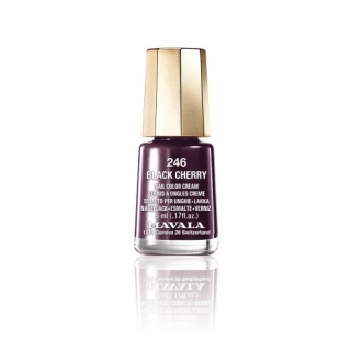 Mavala Haute Couture lak na nehty 246 Black Cherry 5 ml