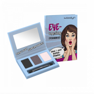 Misslyn Eye mazing eyeshadow set 01