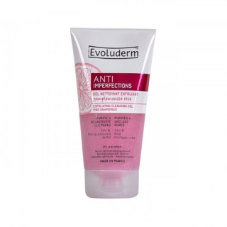 Evoluderm Anti Imperfection Peelingový čistící gel 150 ml