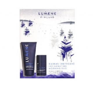 Lumene Men Invigorating Morning Duo dárková kazeta
