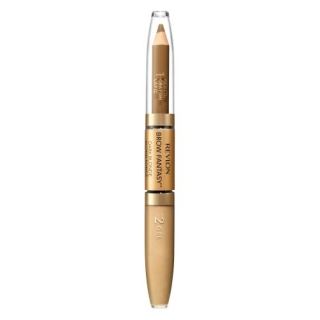 Revlon Brow Fantasy tužka a gel na obočí 2v1 104 Dark Blonde 0,31 g + 1,18 ml