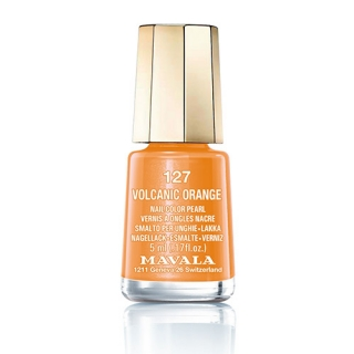 Mavala Minicolor lak na nehty 127 Volcanic Orange 5 ml
