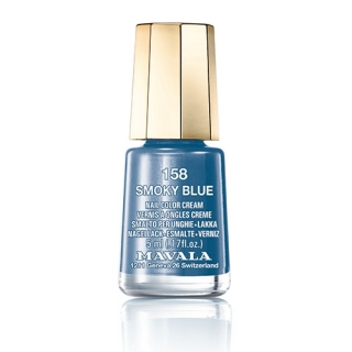 Mavala Minicolor lak na nehty 158 Smoky Blue 5 ml