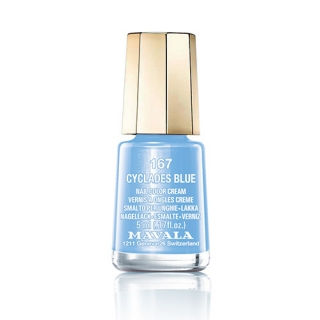 Mavala Minicolor lak na nehty 167 Cyclades  Blue 5 ml