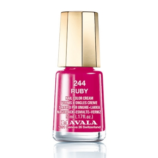 Mavala Minicolor lak na nehty 244 Ruby 5 ml